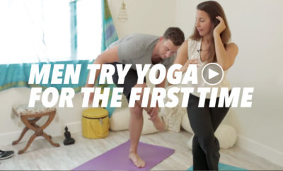men try yoga