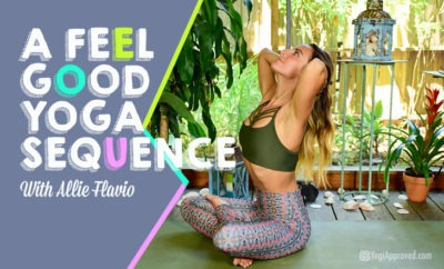 a feel good yoga sequence with allie