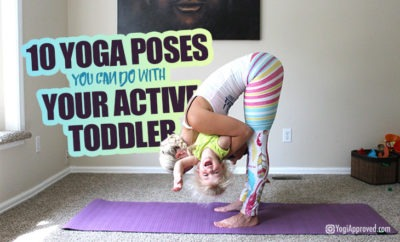 active toddler yoga poses