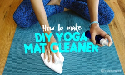 diy yoga mat cleaner
