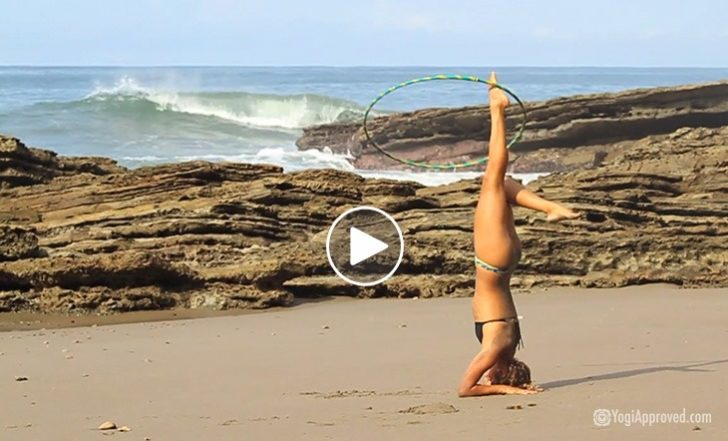 Yoga and Hula Hooping: Beauty in Motion (Video)