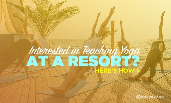 Interested in Teaching Yoga at a Resort? Here's How to Do It