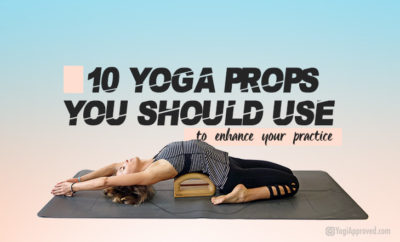 yoga props for your practice