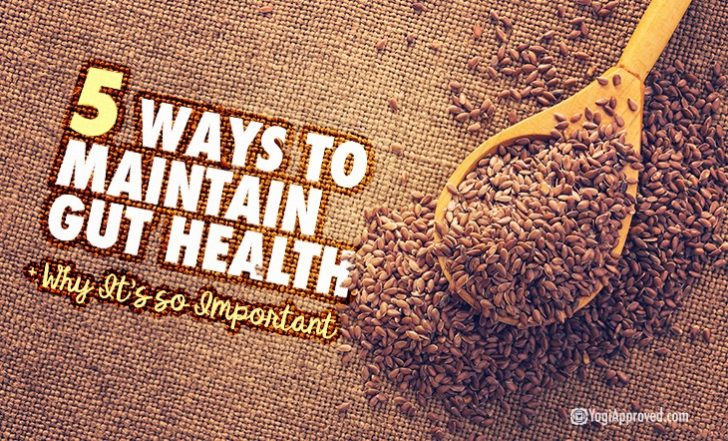 5 Ways to Maintain Gut Health and Why This Is Crucial to Your Overall Wellness