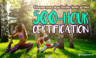 500 hour certification featured image