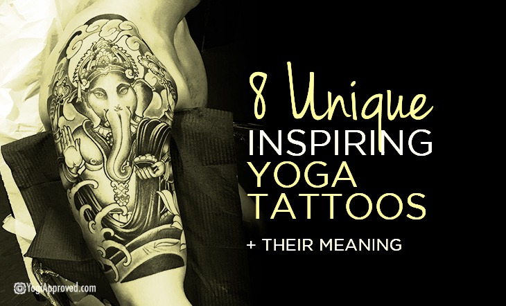 8 unique and inspiring yoga tattoos their meaning for Tattoo classes online free
