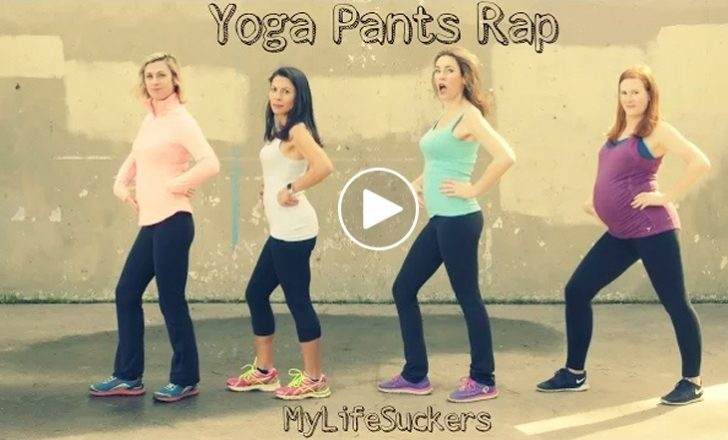 Yoga Pants Rap Video (funny)