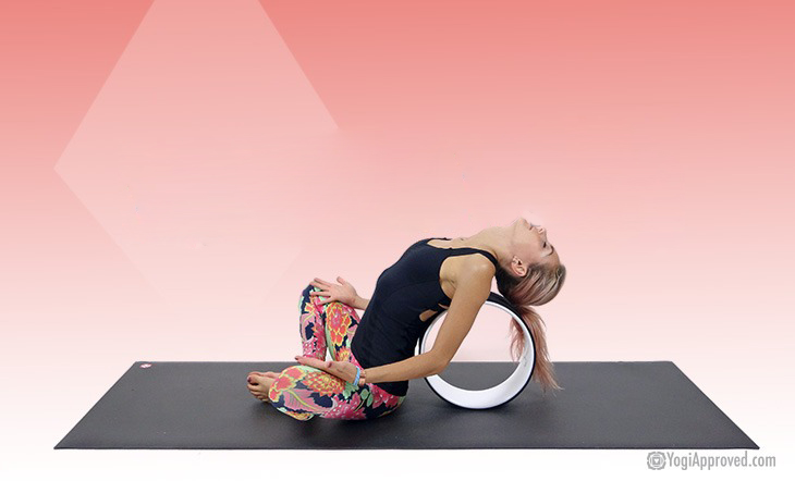 Here Are 5 Ways To Use A Yoga Wheel Photo Tutorial