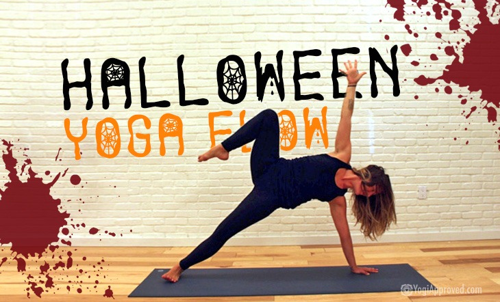 Trick or Treat! Practice This Spooky Halloween Yoga Flow to Get In the Halloween Spirit