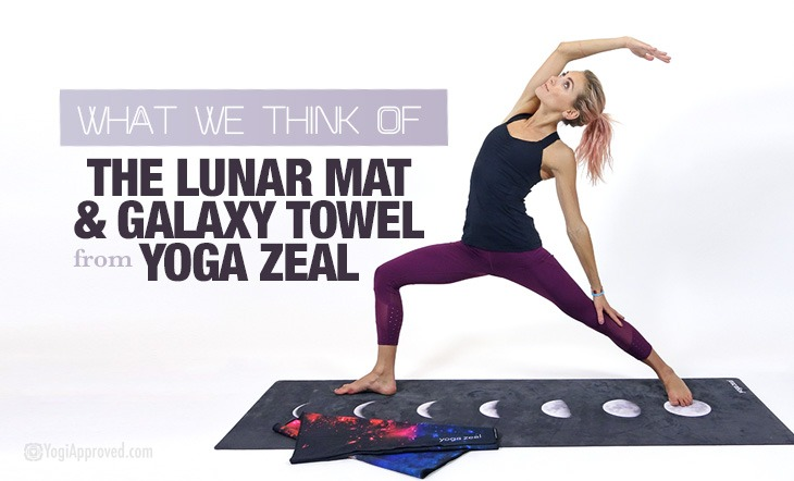 We Review The Moon Phases Yoga Mat Galaxy Yoga Towel