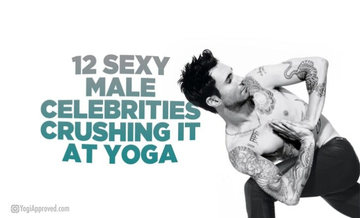 12 Sexy Male Celebrities Crushing It at Yoga