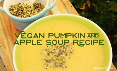 Vegan pumkin soup recipe