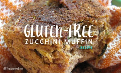 gluten free zucchini muffin featured image