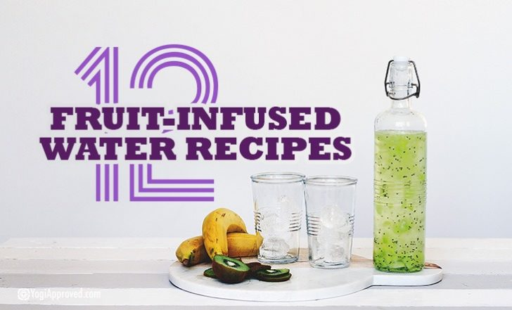 12 Infused Water Recipes for Delicious + Healthy Hydration