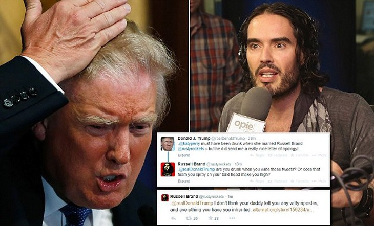 Why Russell Brand Thinks Trump Winning Is a Good Thing (Video)