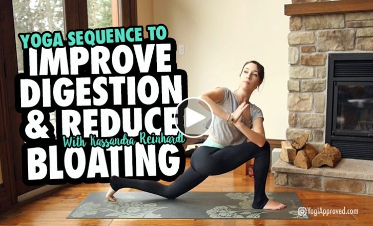 Practice This Yoga Sequence to Improve Digestion and Reduce Bloating (Video)