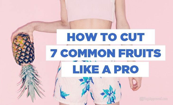 Visual Guide: How to Cut 7 Common Fruits Like a Pro