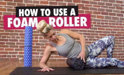 how to use a foam roller article