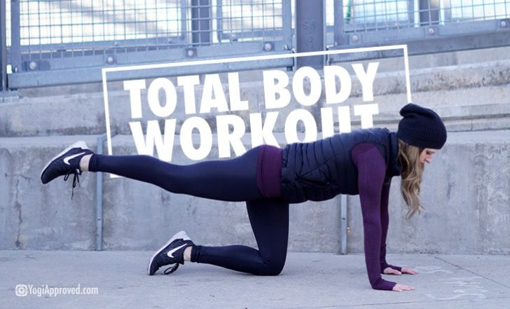 Try This Full Body Workout for a Killer Workout Anywhere – No Equipment Needed