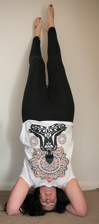Headstand-release-negative-energy