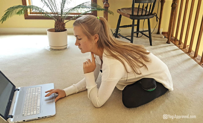 Yoga On Your Laptop