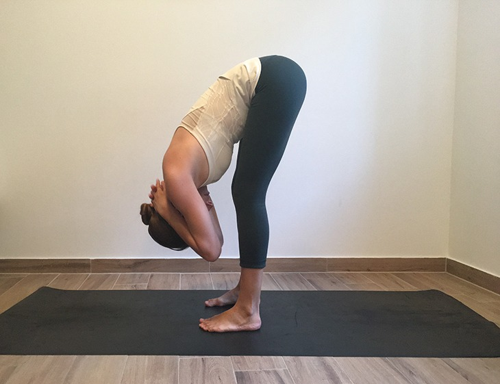 Forward Fold with Neck Stretch72