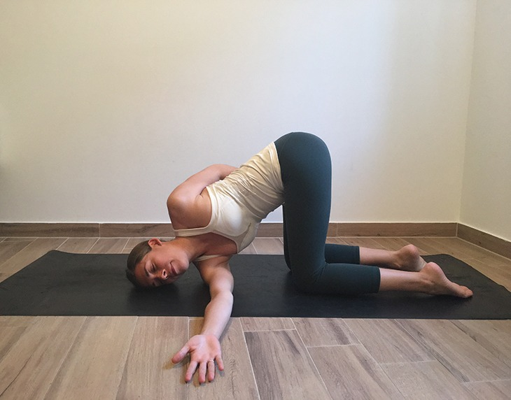 7 Yoga Poses To Help Relieve Neck Pain Yogiapproved Com