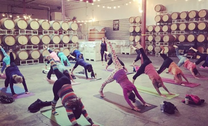 Beer Yoga Is Beckoning Yogis with Stretches and Stouts (Video)