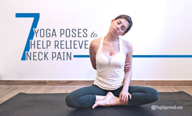Poses Relieve Neck Pain Feaured
