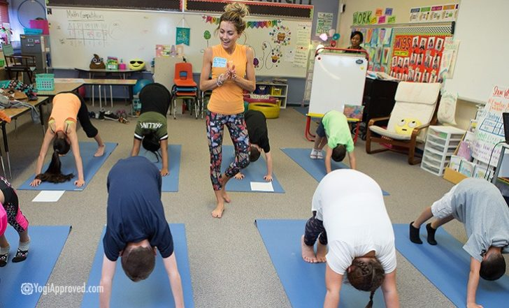 Project Peace Corners Brings Yoga to Elementary School Classrooms in Colorado