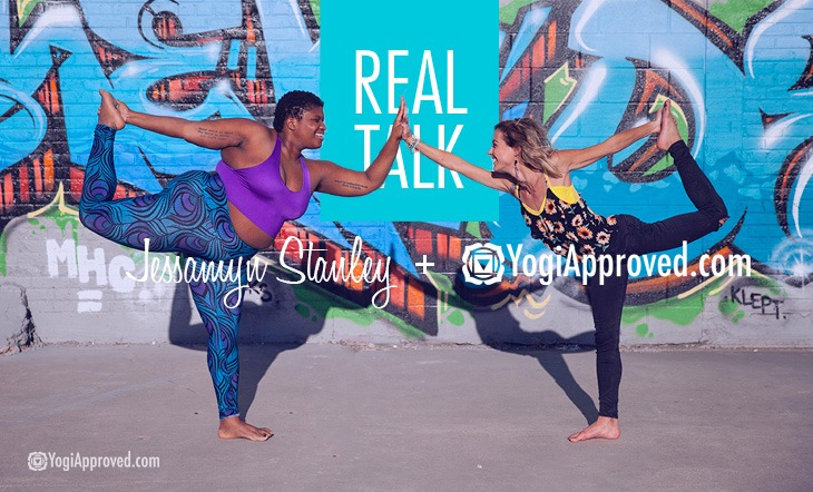 Real Talk – Interview With Jessamyn Stanley, Body Positivity Advocate and Celebrity Yoga Teacher (Video)