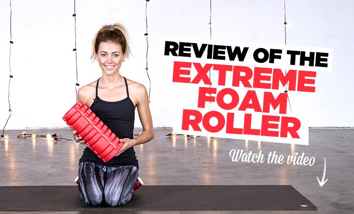 Review of the Extreme Muscle Foam Roller from Epitomie Fitness (Video)