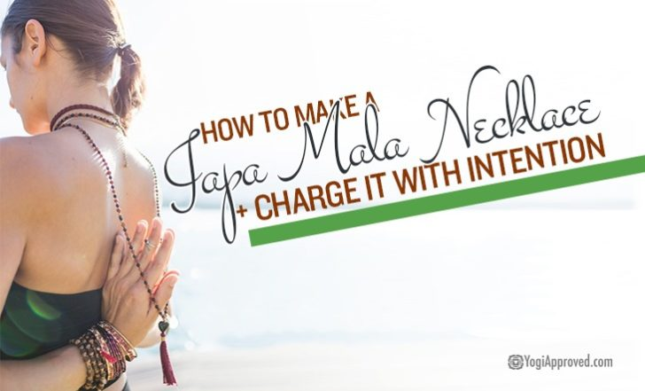 How to Make a DIY Japa Mala Necklace + Charge It With Intention (Step-By-Step Photo Tutorial)