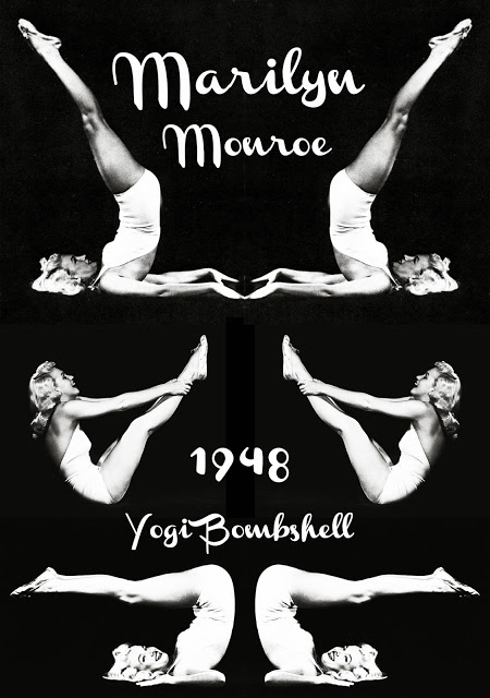 marilyn-yoga-pose-poster