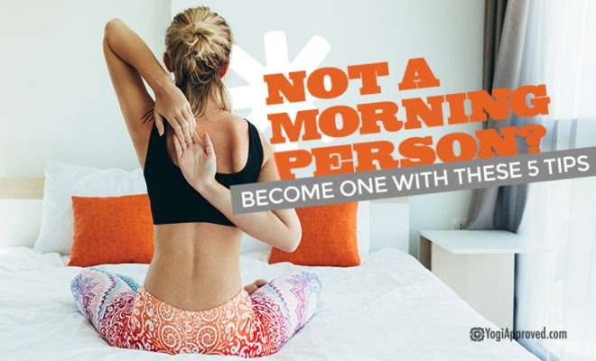 Become Morning Person Tipsd