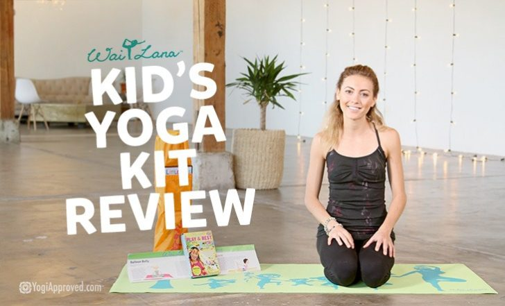 Introduce Your Child to Yoga With this Children's Yoga Kit (Product Review)