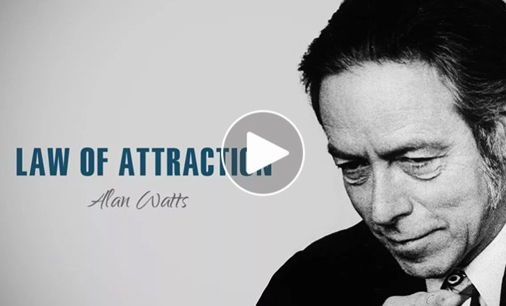 Zen Master Alan Watts Talks Passion + The Law of Attraction (Video)