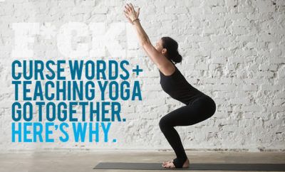 curse words teaching yoga featured