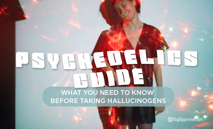 People on hallucinogens before and after
