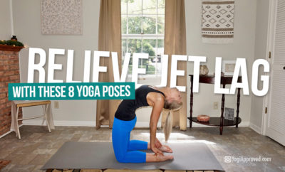 relieve jet lag yoga featured