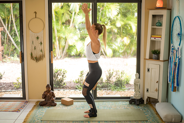 yoga for knee pain sequence-11