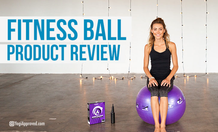 Review of the Active Balance Fitness Ball from Epitome Fitness