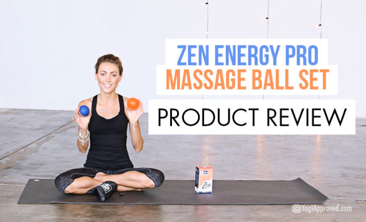 Review of the Zen Energy Pro Massage Ball Set from Epitomie Fitness