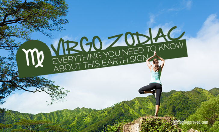 Here's Your Complete Guide to Virgo Zodiac + 6 Grounding Yoga Poses for This Earth Sign