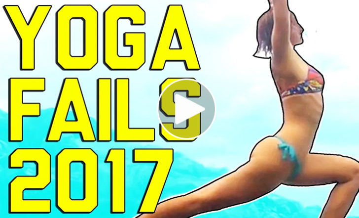 You've Got to Check Out These Hilarious Yoga Fails (Funny Video)
