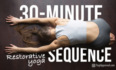 30 minute restorative yoga sequence