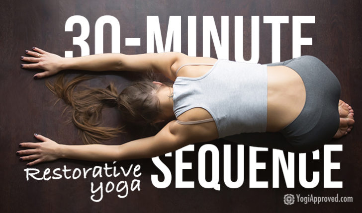 Yoga For Stress Relief: De-Stress With This 30-Minute Restorative Yoga Sequence