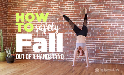 how to fall handstand featured