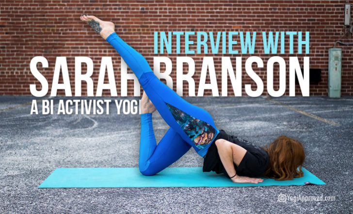 Yogi Highlight: We Interview Bisexual Entrepreneur and Activist Sarah Branson