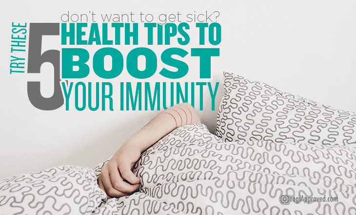 Don't Want to Get Sick This Season? Here Are 5 Simple Health Tips to Boost Your Immunity